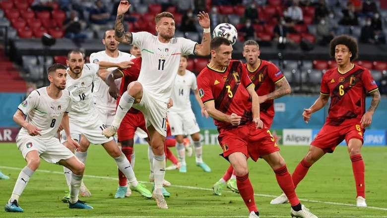 Italia - Belgia / UEFA Nations League - 10.10.2021